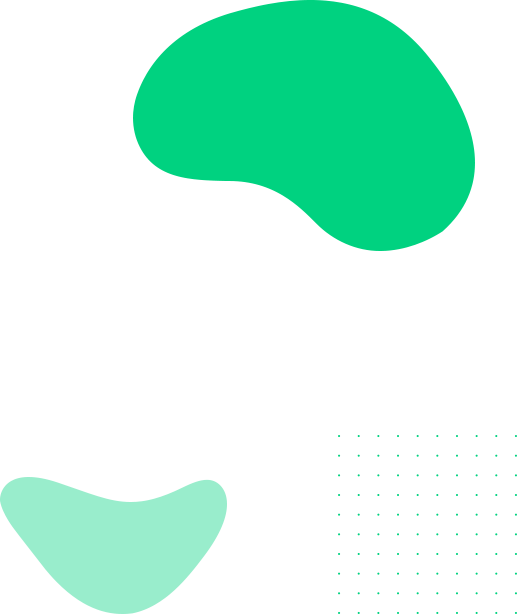 bg elements with dots green